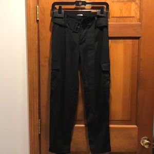 Belted Utility pants